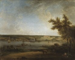 English Landscape from Mistley Hall