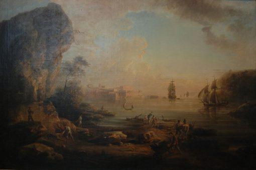 Coast Landscape   Elias Martin   Oil Painting