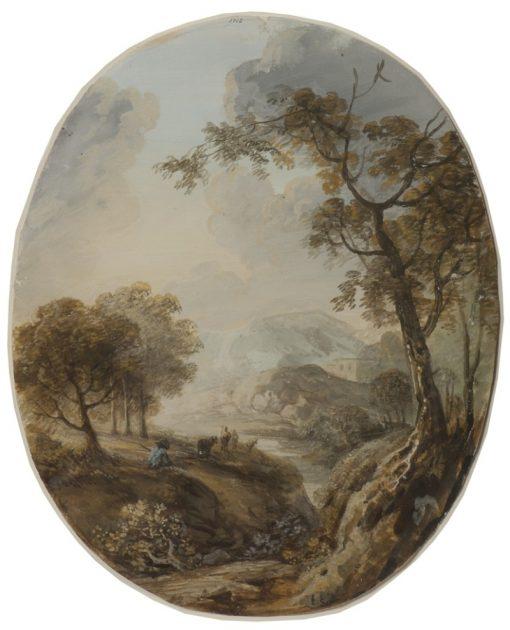 Landscape with Shepherd | Elias Martin | Oil Painting