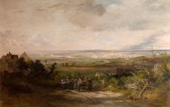 Newcastle from Gateshead Fell   Thomas Miles Richardson