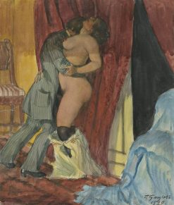 In the Throes of Passion | Boris Mikhailovich Kustodiev | Oil Painting