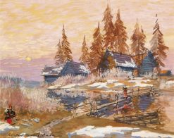 Late Winter | Constantin Alexeevich Korovin | Oil Painting