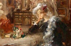 Meditation | Pompeo Mariani | Oil Painting