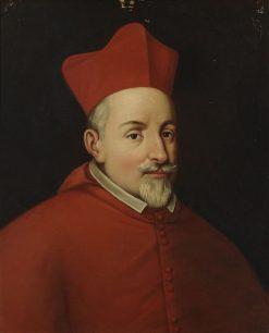 Cardinal Alfonso de la Cueva   Manuel Ojeda y Siles   Oil Painting