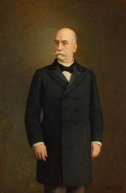 Ventura García Sancho e Ibarrondo   Manuel Ojeda y Siles   Oil Painting