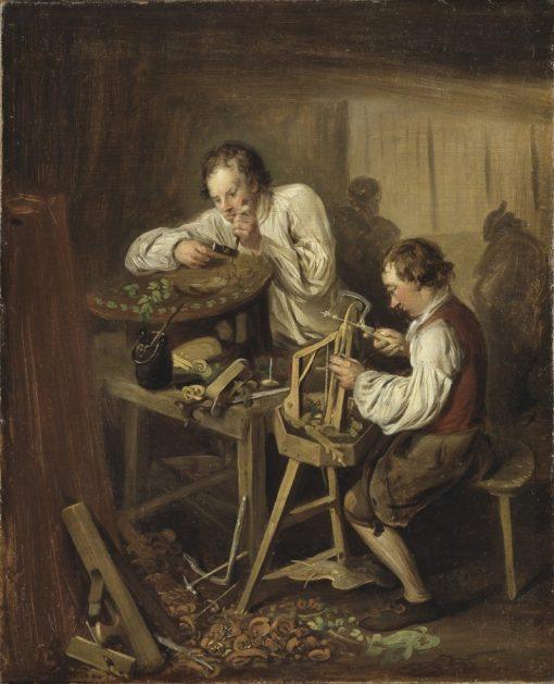 The Ebonists | Elias Martin | Oil Painting