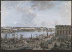 View of Stockholm | Elias Martin | Oil Painting