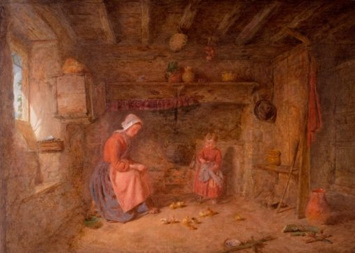 Feeding Time | Alfred Provis | Oil Painting