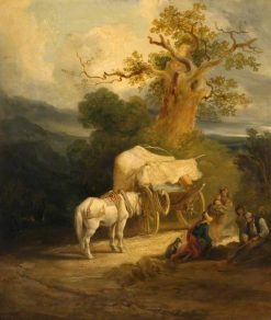 The Market Cart | Thomas Miles Richardson