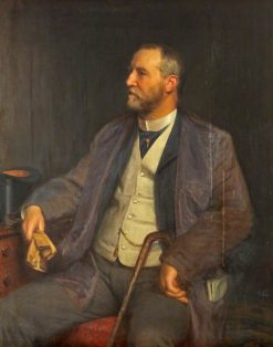Alderman Edwin Grove | Henry Tanworth Wells | Oil Painting