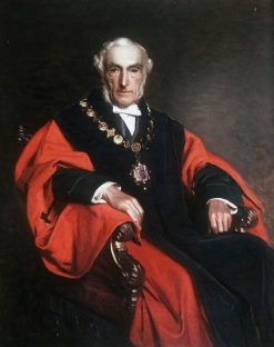 Alderman John Gwynne James | Henry Tanworth Wells | Oil Painting