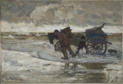 At the Dunes | Hans von Bartels | Oil Painting