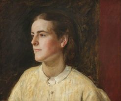 Clara Evelyn Mordan | Henry Tanworth Wells | Oil Painting