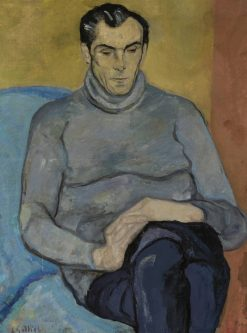 Portrait of a Man | Leopold Gottlieb | Oil Painting