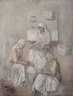 Women in White | Leopold Gottlieb | Oil Painting