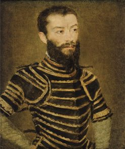 Portrait of a Man in Armor | Claude Corneille de Lyon | Oil Painting