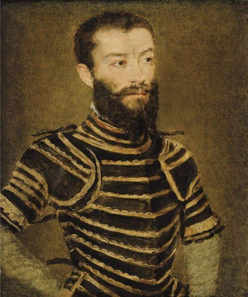 Portrait of a Man in Armor | Claude Corneille de Lyon | Oil Painting