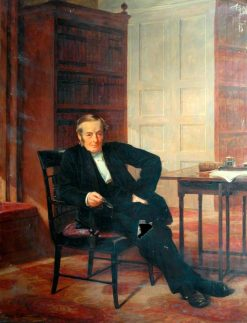 Judge James Stansfield | Henry Tanworth Wells | Oil Painting