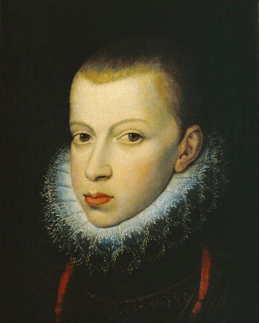 Prince Philip III | Juan Pantoja de la Cruz | Oil Painting