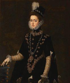 Infanta Catalina Micaela of Austria | Juan Pantoja de la Cruz | Oil Painting