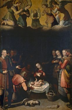 The Nativity | Juan Pantoja de la Cruz | Oil Painting
