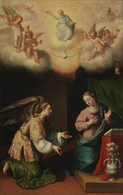 The Annunciation | Juan Pantoja de la Cruz | Oil Painting