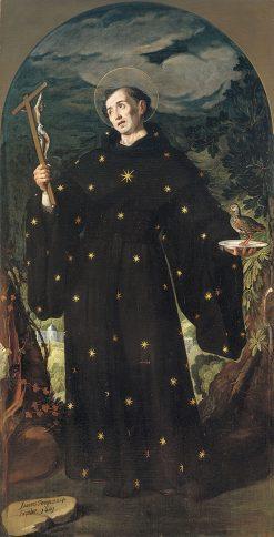 San Nicolás de Tolentino | Juan Pantoja de la Cruz | Oil Painting