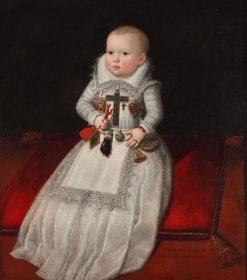 Infanta Anna Mauricia of Austria | Juan Pantoja de la Cruz | Oil Painting
