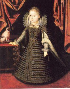 Infanta Anna | Juan Pantoja de la Cruz | Oil Painting