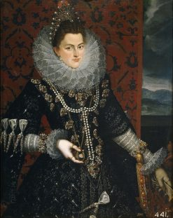 Infanta Isabella Clara Eugenia of Spain | Juan Pantoja de la Cruz | Oil Painting