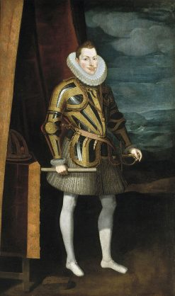 Philip III of Spain | Juan Pantoja de la Cruz | Oil Painting