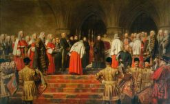 Queen Victoria Opening of the Royal Courts of Justice