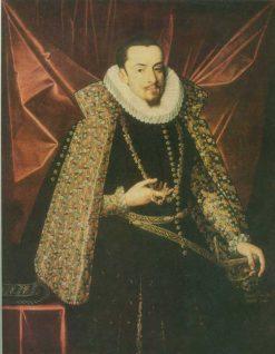 Albrecht der Fromme | Juan Pantoja de la Cruz | Oil Painting
