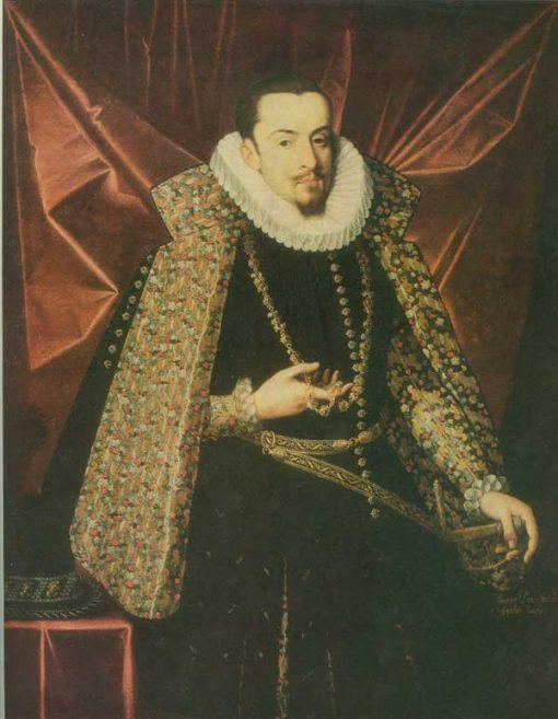 Albrecht der Fromme   Juan Pantoja de la Cruz   Oil Painting