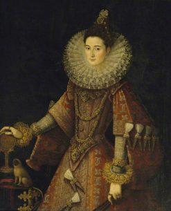 Infanta Isabella Clara Eugenia | Juan Pantoja de la Cruz | Oil Painting