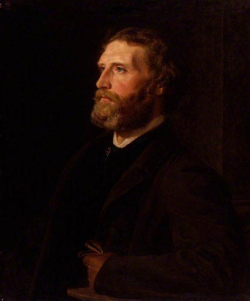 Sir Frederic William Burton   Henry Tanworth Wells   Oil Painting