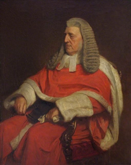 The Right Honourable George Denman | Henry Tanworth Wells | Oil Painting