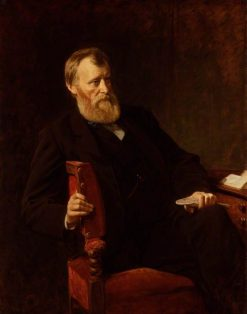 William Edward Forster | Henry Tanworth Wells | Oil Painting