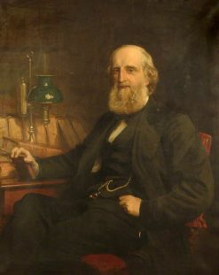 William Shaen   Henry Tanworth Wells   Oil Painting