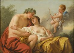 Bacchus and Ariadne | Louis Jean Francois Lagrenee | Oil Painting