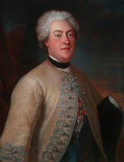 Portrait of Frederick Augustus of Saxony | Louis de Silvestre | Oil Painting