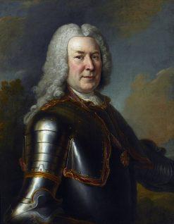 Portrait of Micha? Fryderyk Czartoryski | Louis de Silvestre | Oil Painting