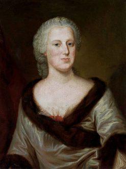 Portrait of Maria Anna of Kolowrat-Krakovský | Louis de Silvestre | Oil Painting