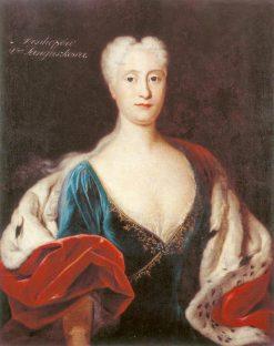 Portrait of Konstancja Sanguszko | Louis de Silvestre | Oil Painting