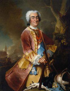 Portrait of Augustus II the Strong | Louis de Silvestre | Oil Painting