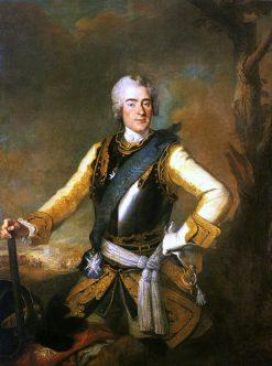 Johann George Chevalier de Saxe | Louis de Silvestre | Oil Painting