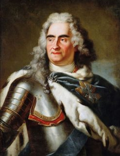 August II the Strong | Louis de Silvestre | Oil Painting
