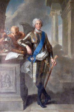 Jan Jerzy Kawaler Saski | Louis de Silvestre | Oil Painting