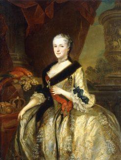Maria Josepha of Austria | Louis de Silvestre | Oil Painting