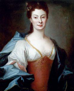 Portrait of Anna Orzelska | Louis de Silvestre | Oil Painting